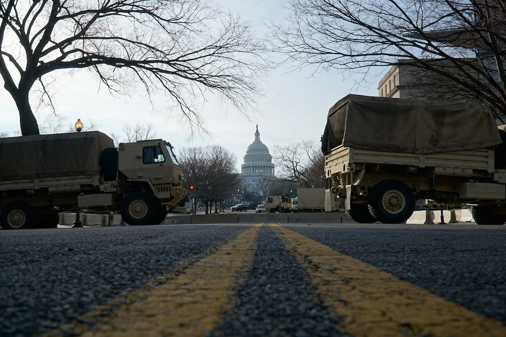 US Capitol Building Under Lockdown in DC