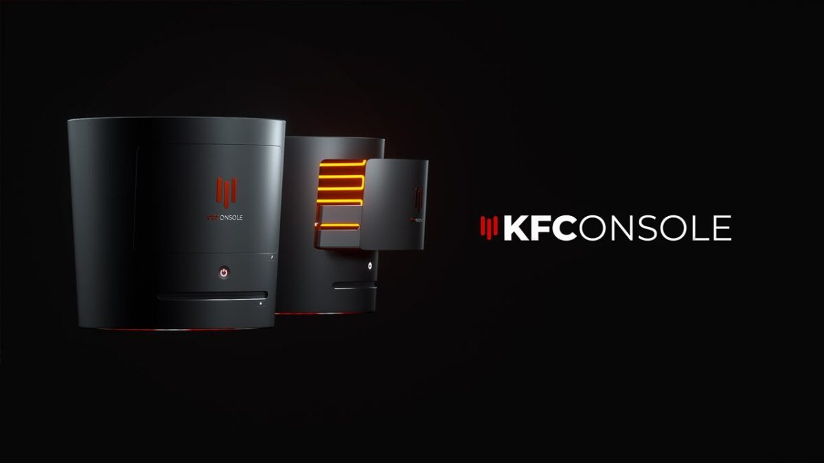 KFC launches game console with built-in chicken warmer