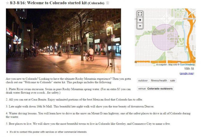 Crazy Craigslist Ads: Denver Edition