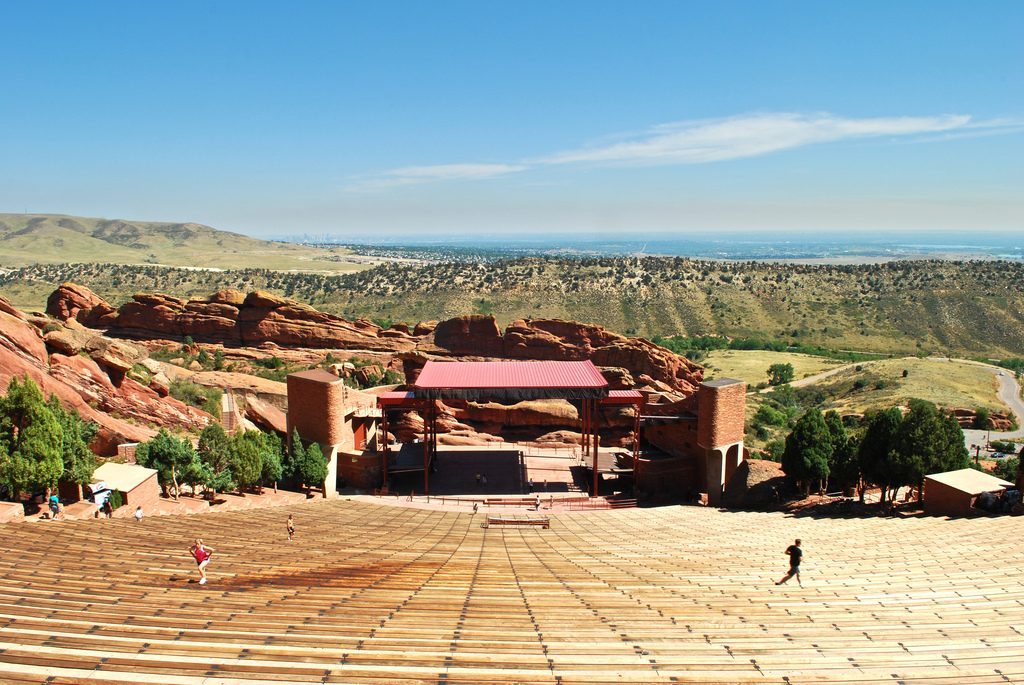 red rocks park and ampitheater morrison colorado